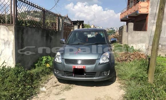 Buy Used Suzuki Swift Silver Car in Kathmandu in Bagmati
