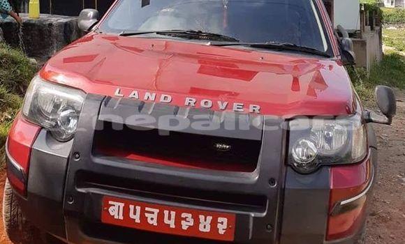 Buy Used Land Rover Freelander Red Car in Kathmandu in Bagmati