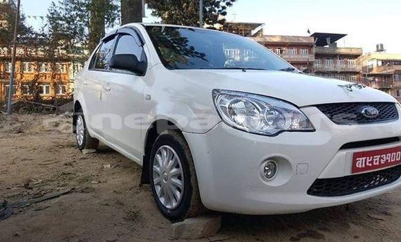 buy used ford fiesta white car in kathmandu in bagmati. Black Bedroom Furniture Sets. Home Design Ideas